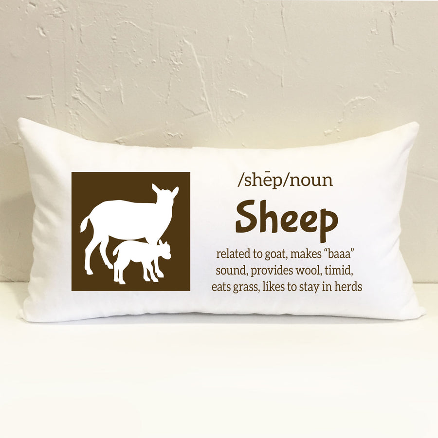 Farm Sheep Pillow