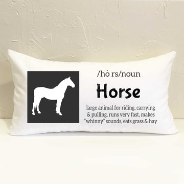 Farm Horse Pillow