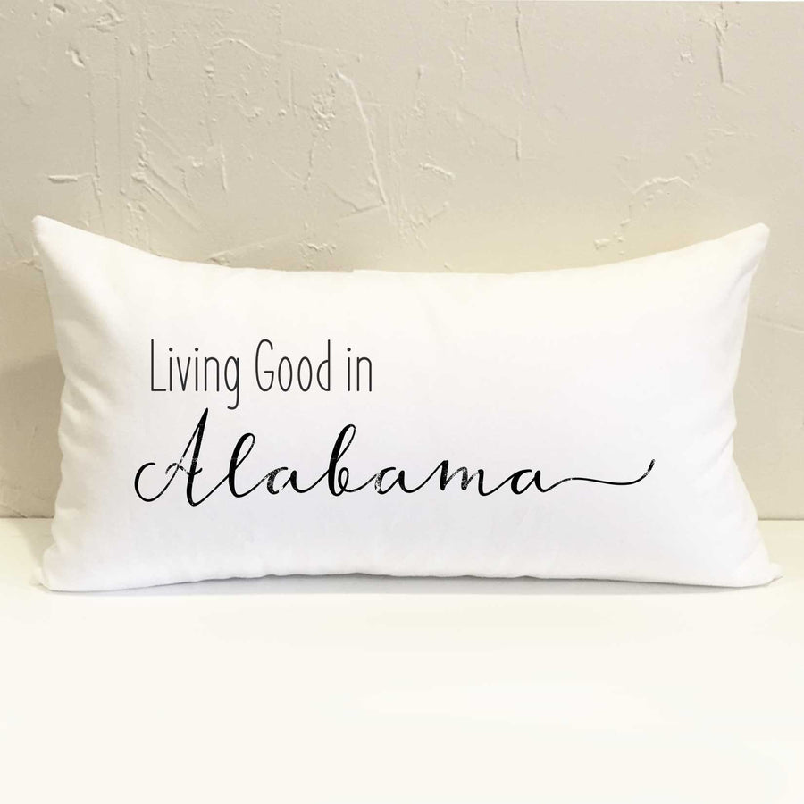 Living Good State Pillow