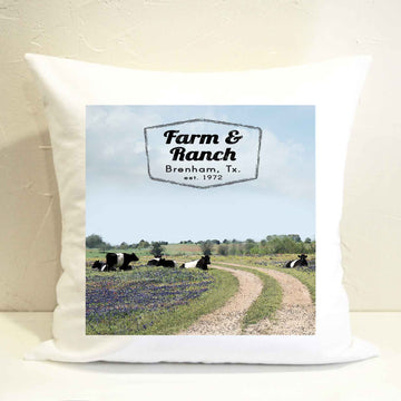 Cattle Ranch Pillow