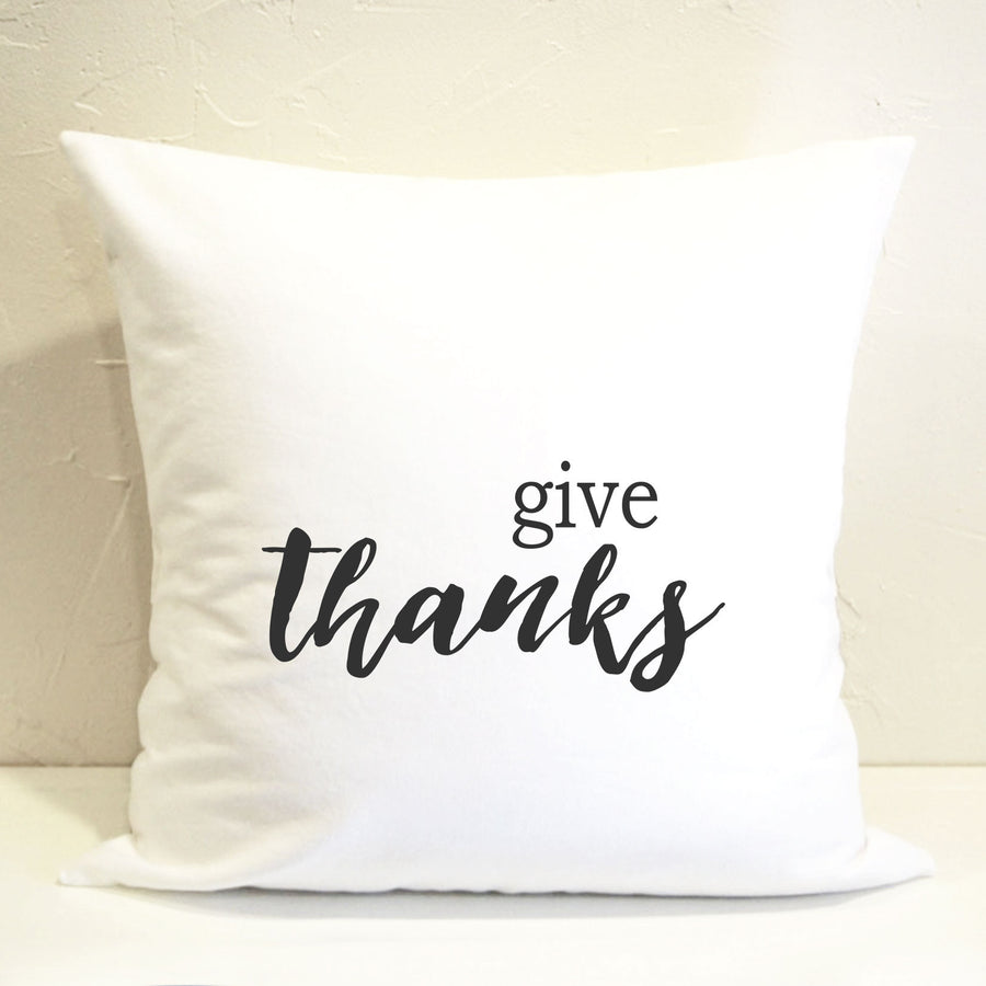 Give Thanks Pillow