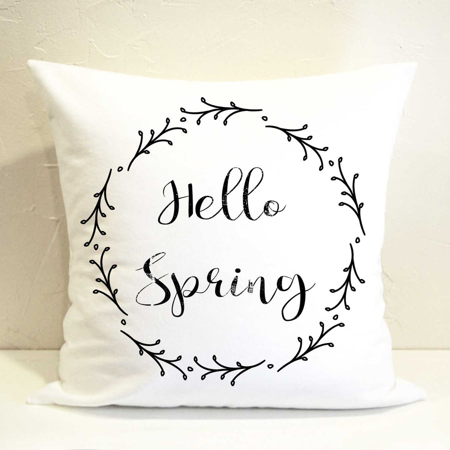 Hello Spring Pillow