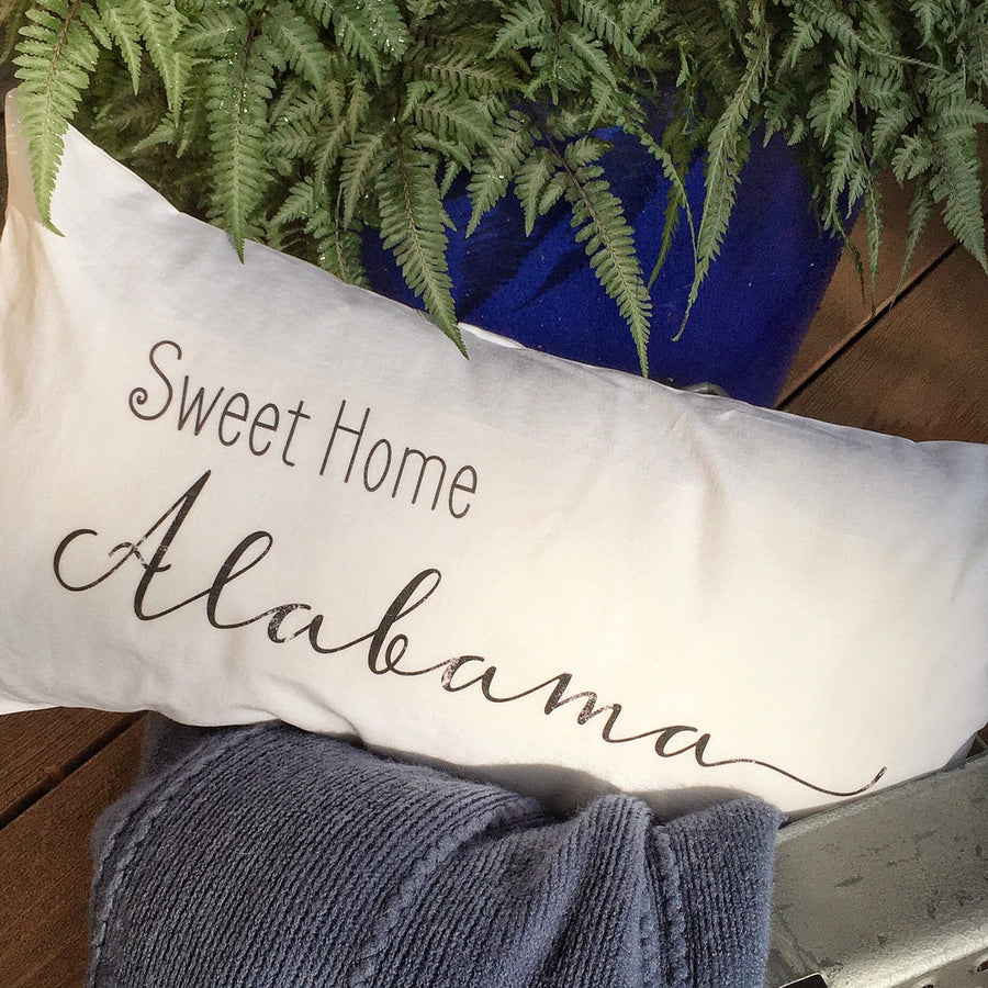 Sweet Home State Pillow