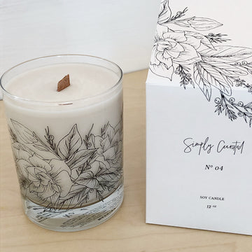 Simply Curated Soy Candle #4