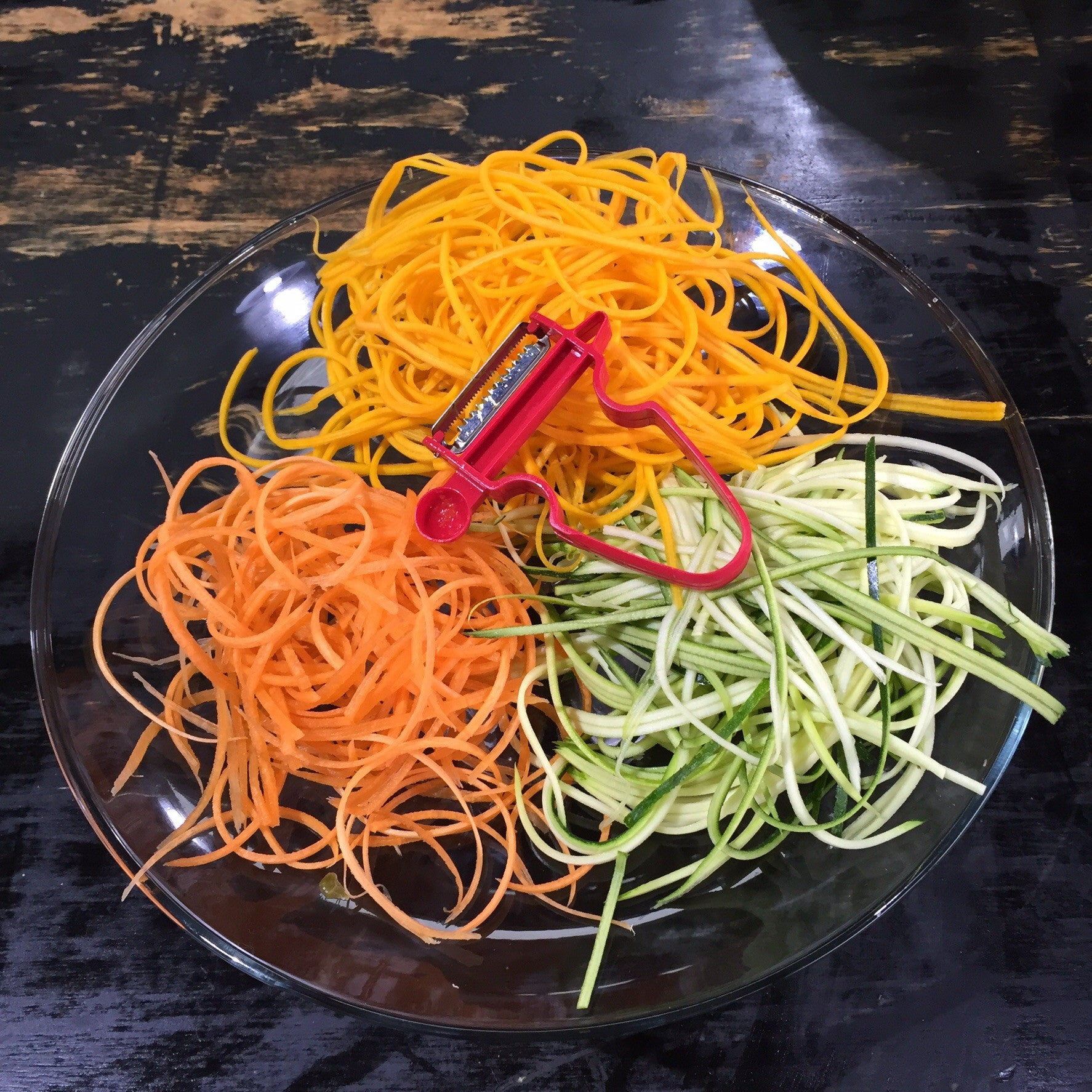 Red Julienne Peeler