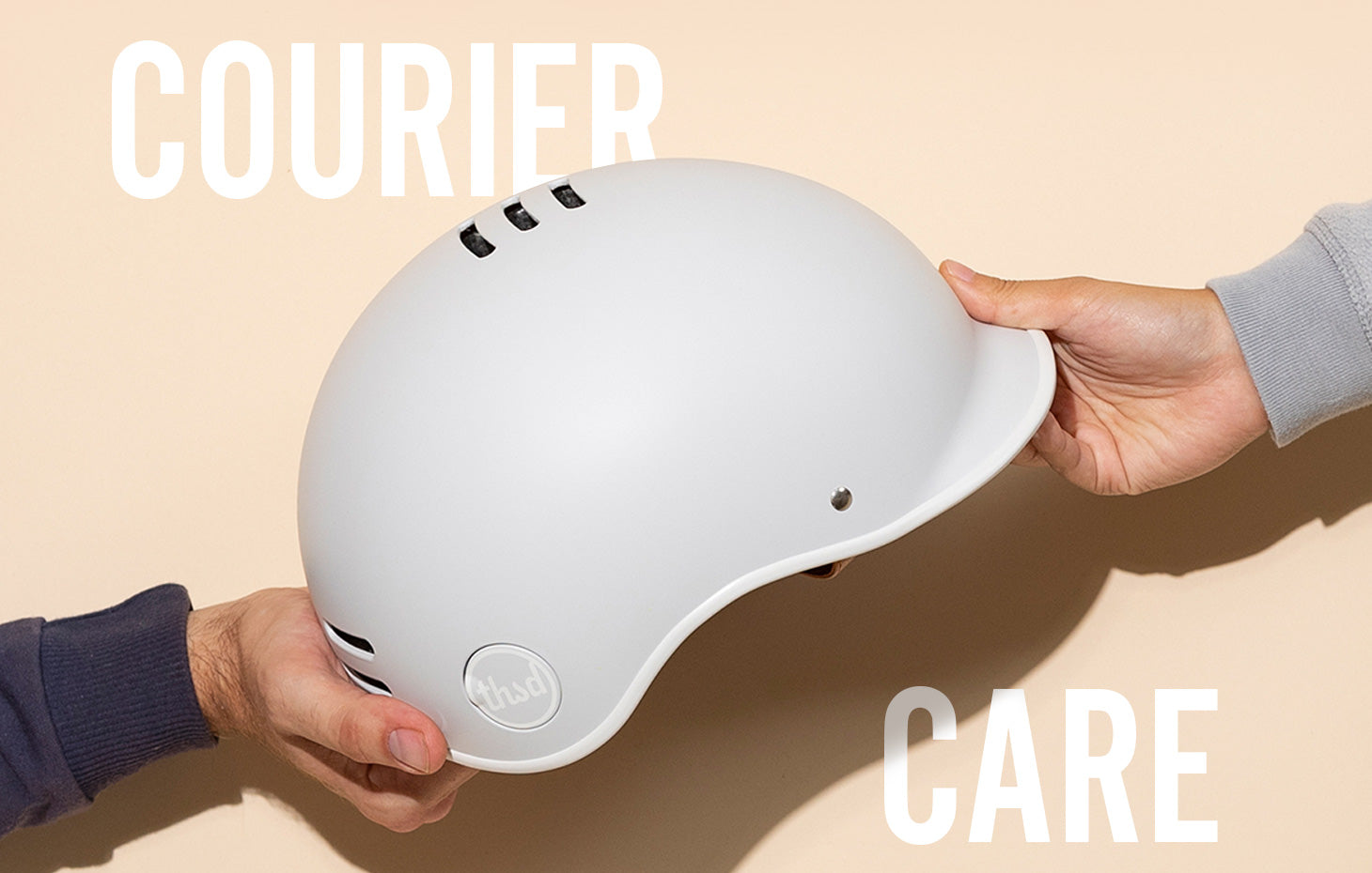 WE'RE GIVING BIKE COURIERS DELIVERING ESSENTIAL SUPPLIES A FREE HELMET