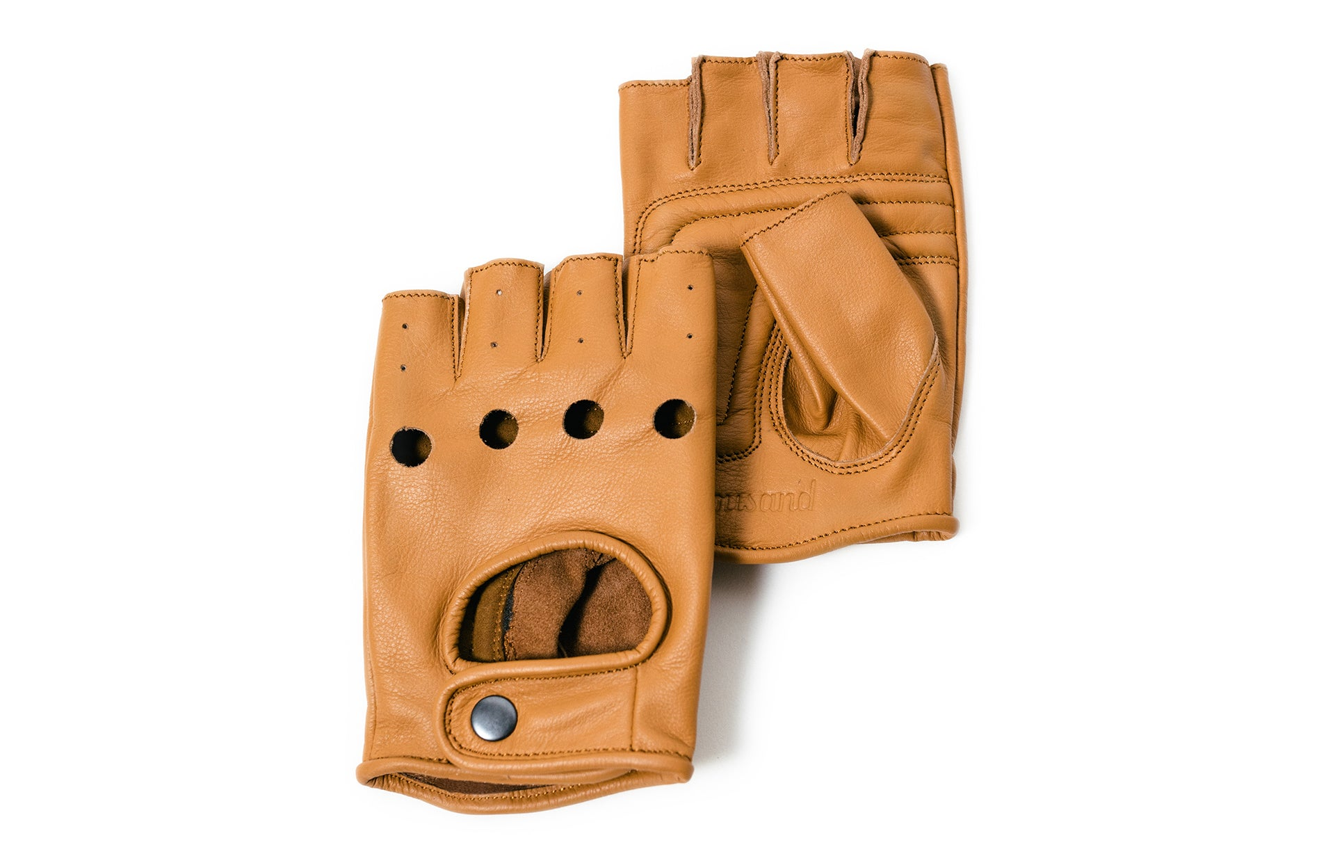 Cool Urban cycling leather gloves