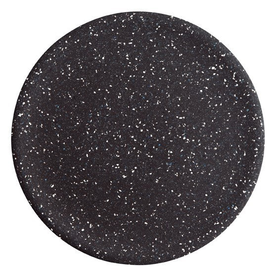 Terrazzo Dimple Tray - Large Black