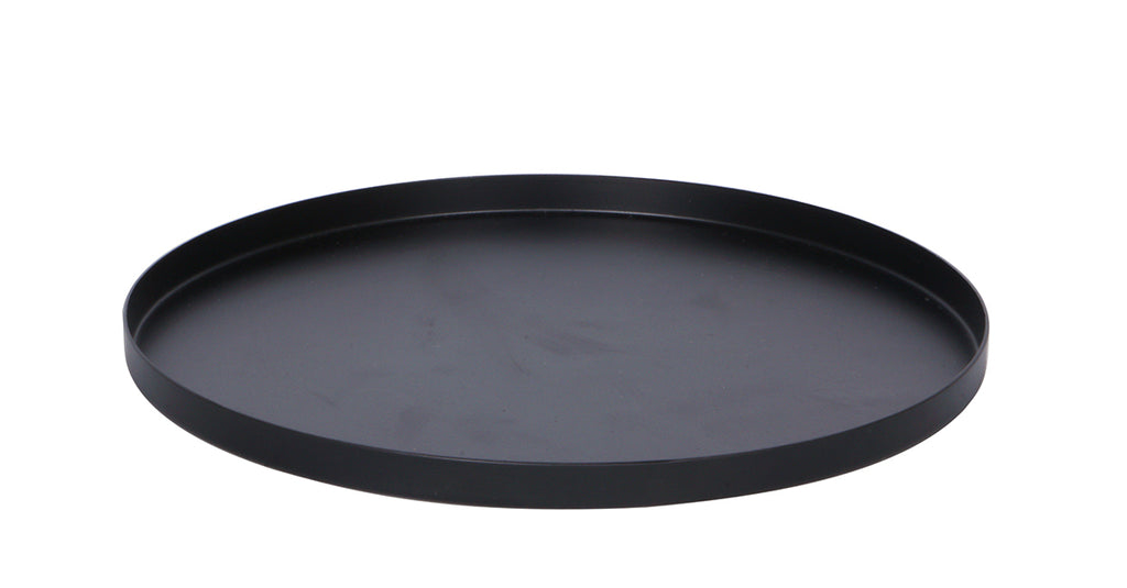 Round Tray Small - Black