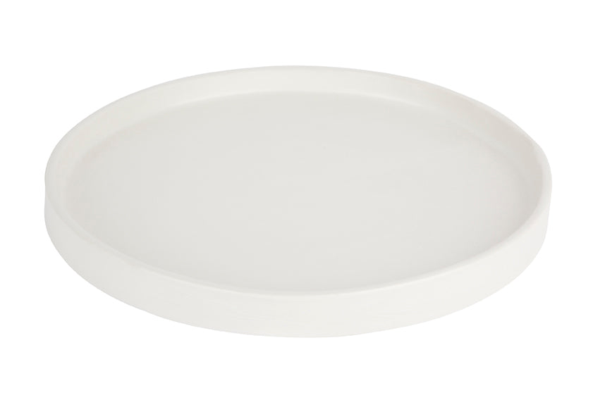 Tab Plate - Large White
