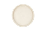 Concrete Round Tray - White