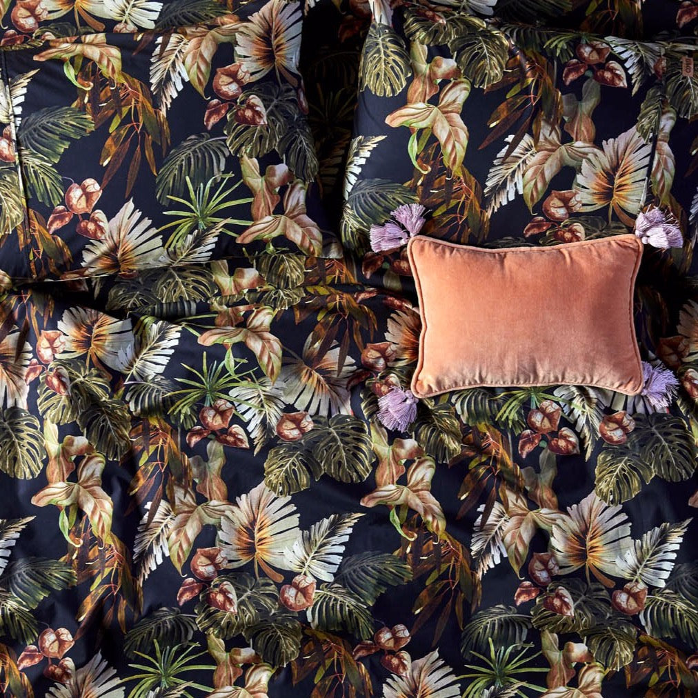 Night Jungle Pillowcase Set