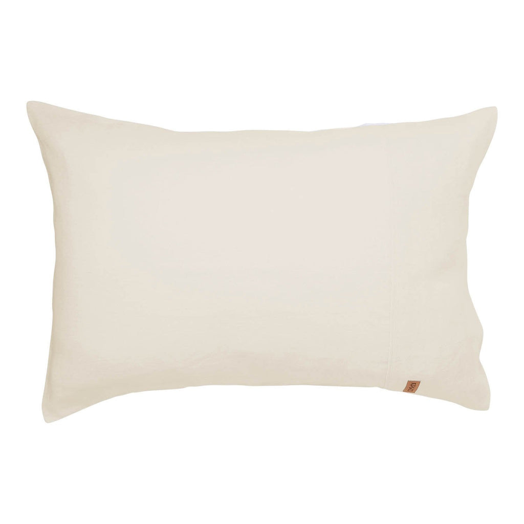 Coconut Linen Pillowcase Set