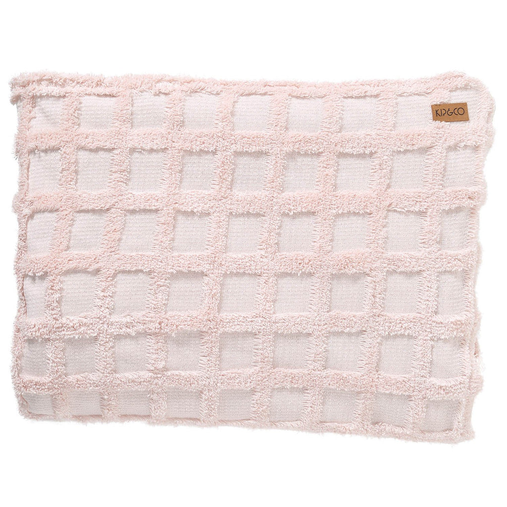 Pink Champagne Chenille Throw