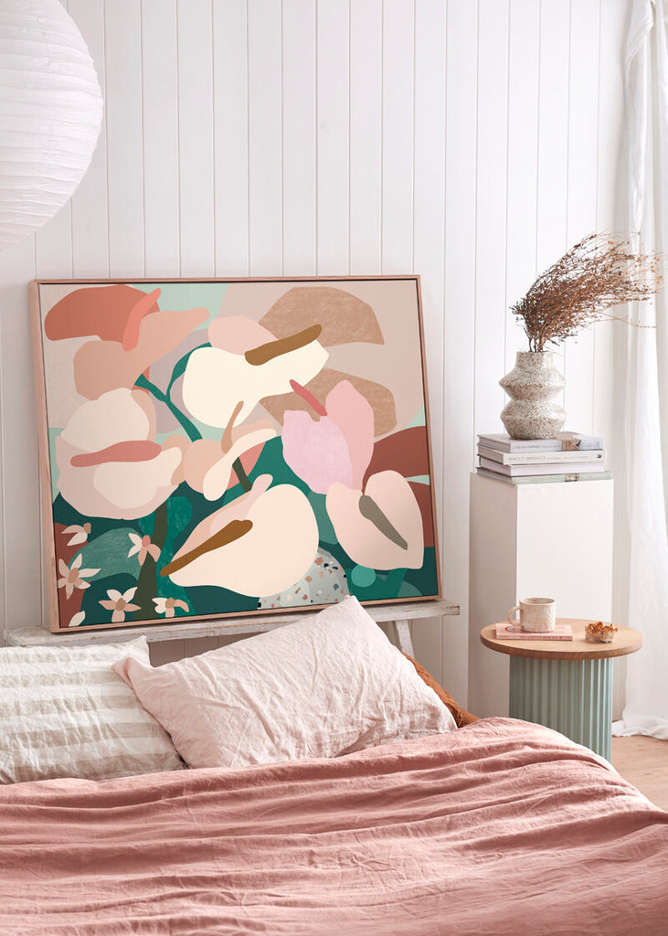Anthurium I - Limited Edition Canvas Print