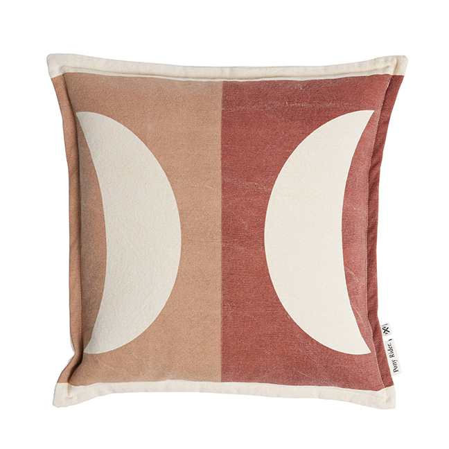 Moonrise Cushion - Plum Desert/Donkey