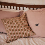 Safari Stripe Cushion  2 -  Donkey Stripe