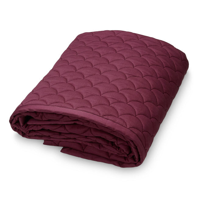 Quilt - Wave Bordeaux