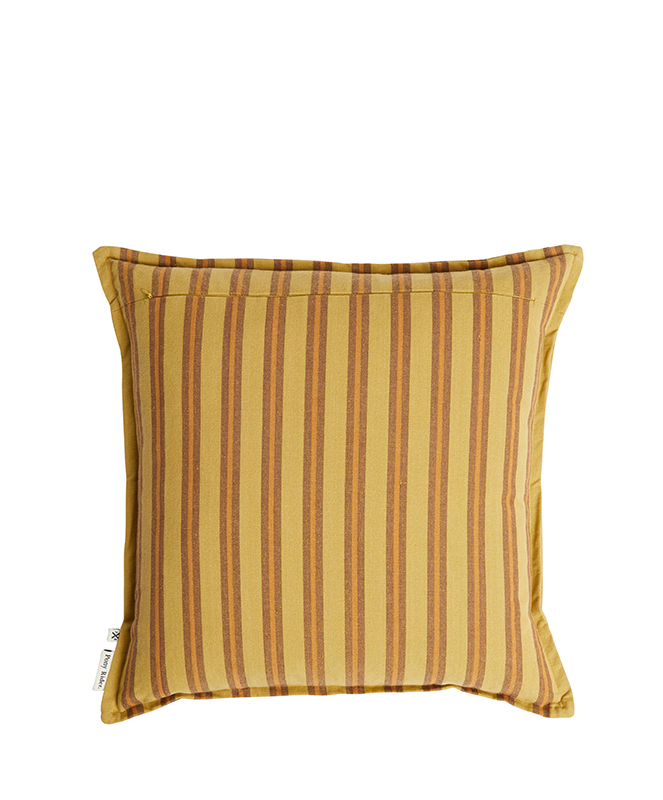 Safari Strip Cushion - Golden Tan