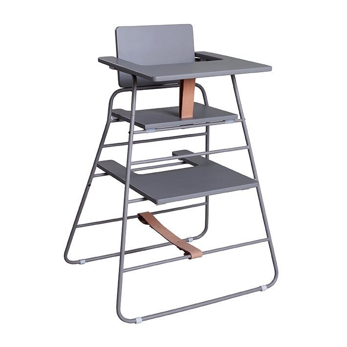 BZBX TOWER - High Chair - Grey