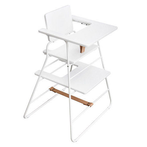 BZBX TOWER - High Chair - White