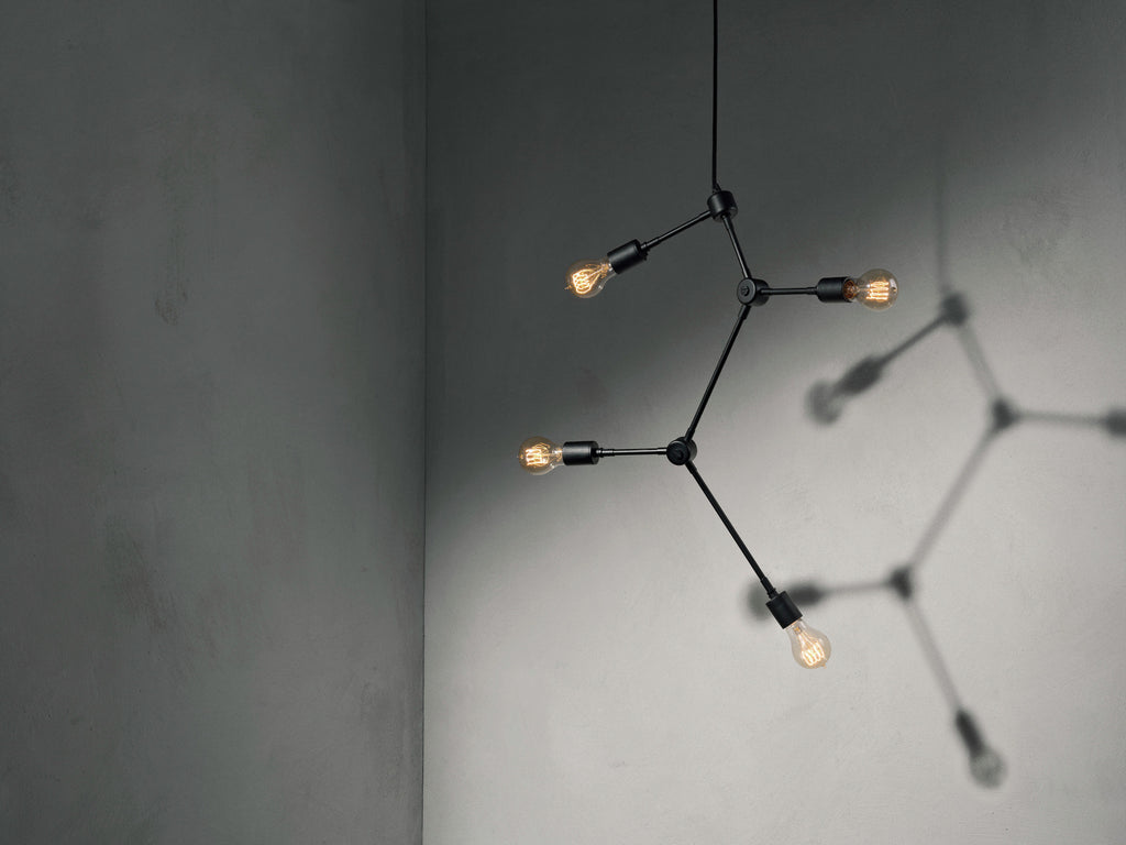 Franklin Chandelier - Black