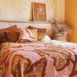 Spotted Begonia Clay Throw