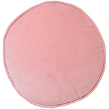 Strawberry Pink Velvet Pea Cushion