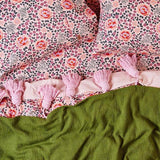 Forest Floor Cotton Pillowcase Set