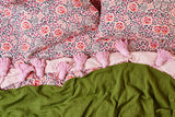 Forest Floor Quilted Pillowcase Set
