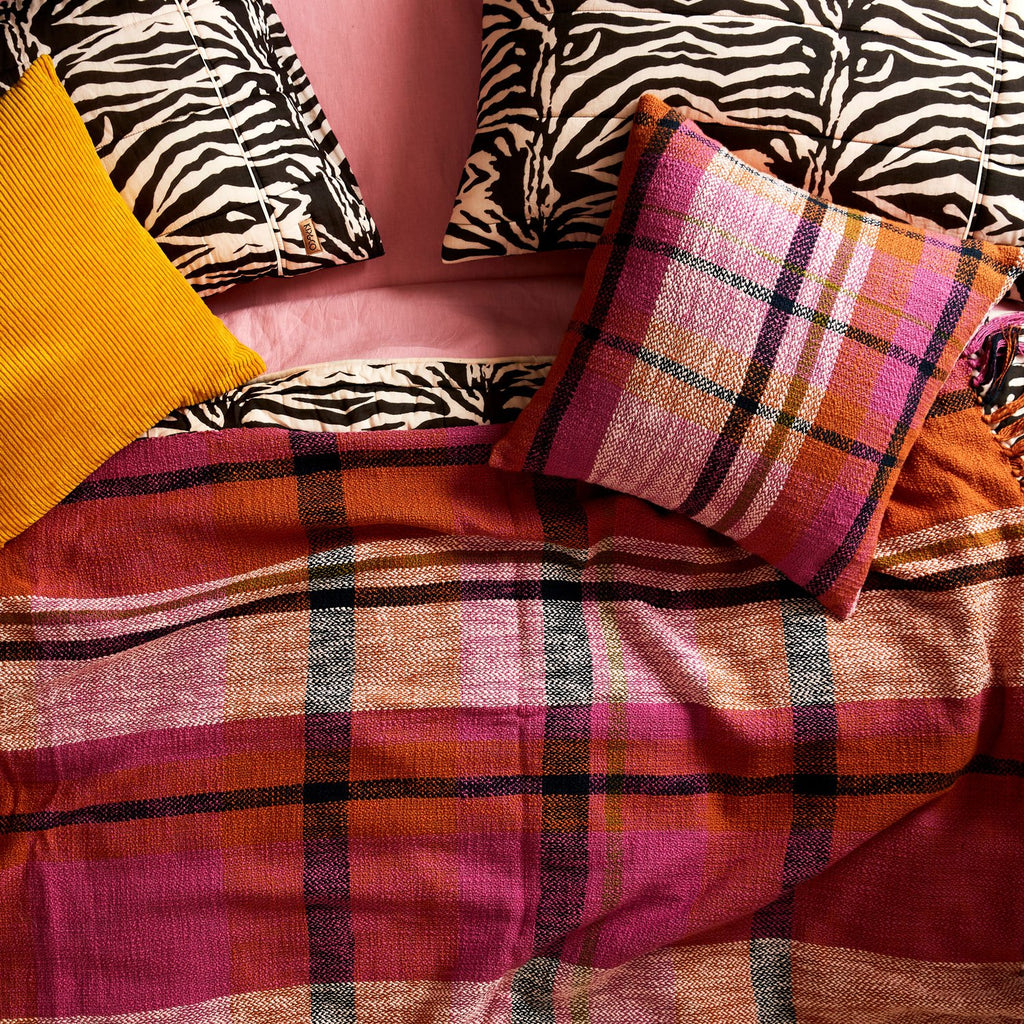 Zebra Crossing Quilted Pillowcase Set