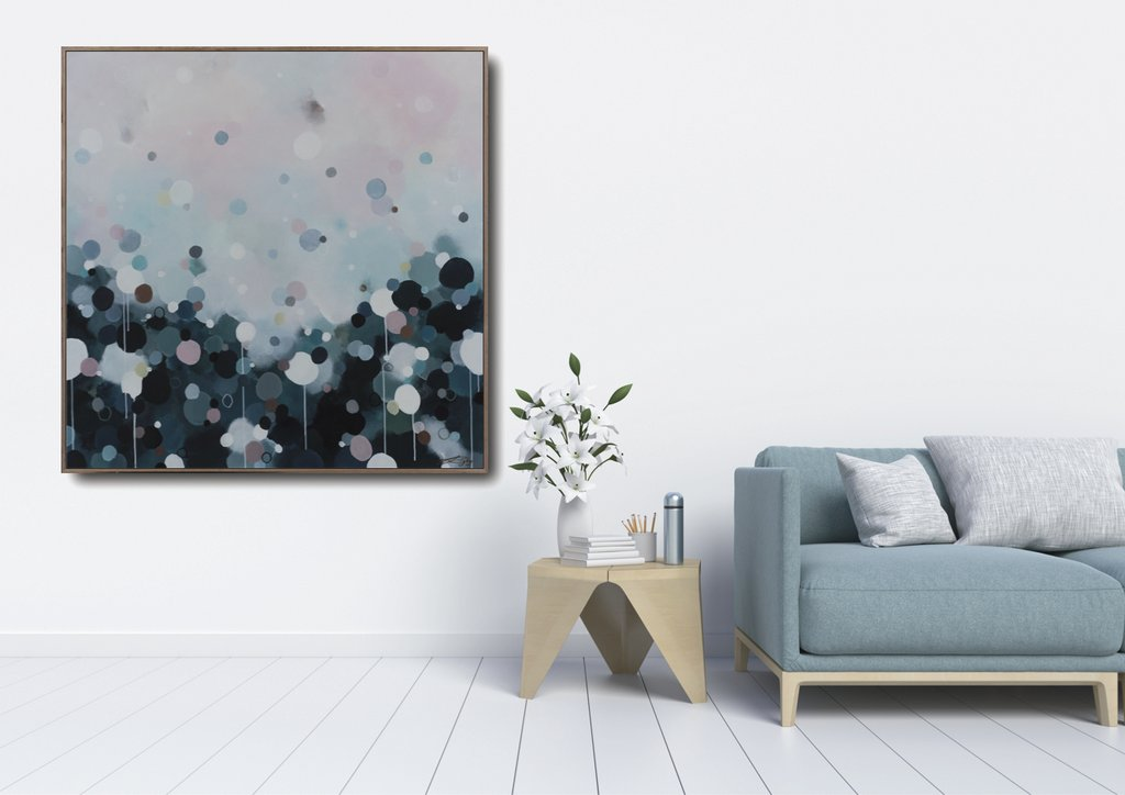 Nebula Haze #28- Limited edition Canvas Print