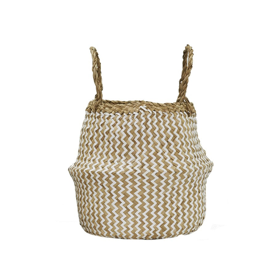 Zig Zag Belly Basket - Small
