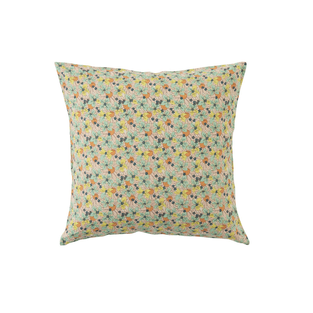 Marcie Floral Euro Pillowcase Set