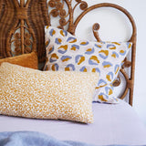 Frankie Linen Euro Pillowcase Set