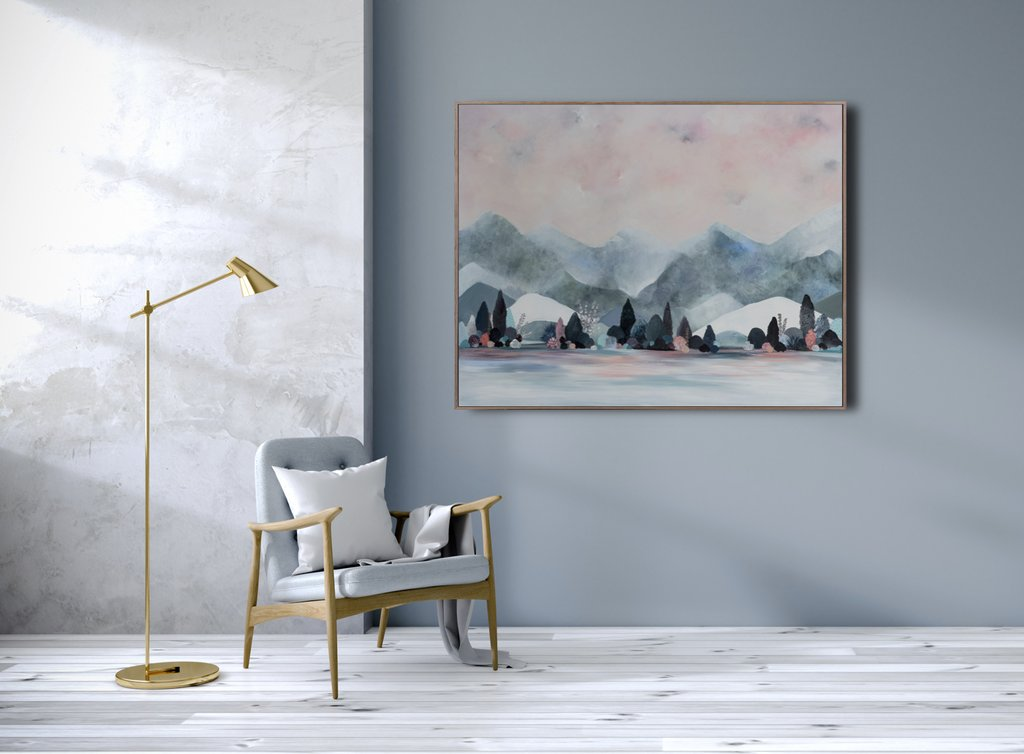 Saltus Montem -  Limited edition Canvas Print