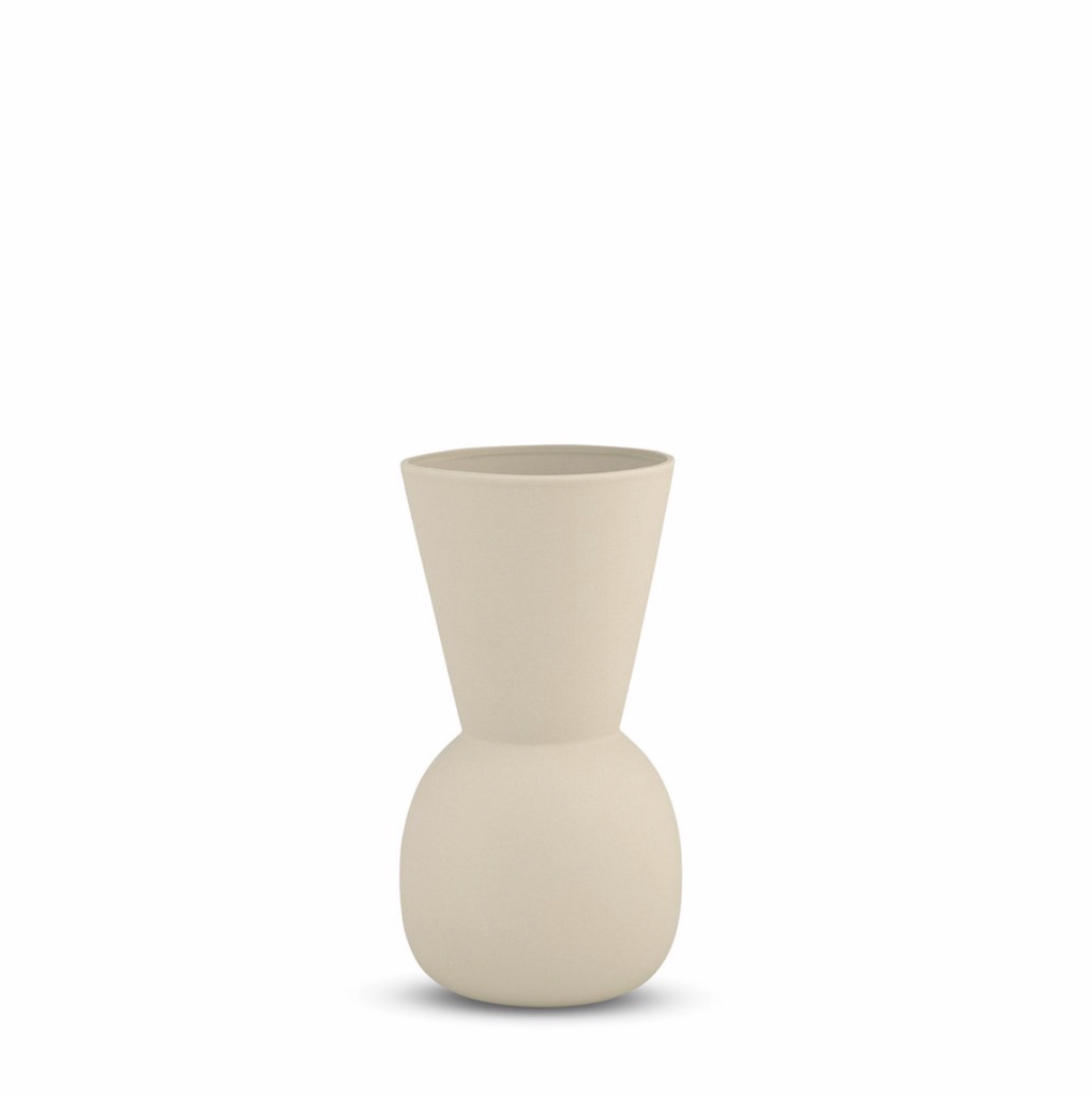 Cloud Bell Vase Cream - Small