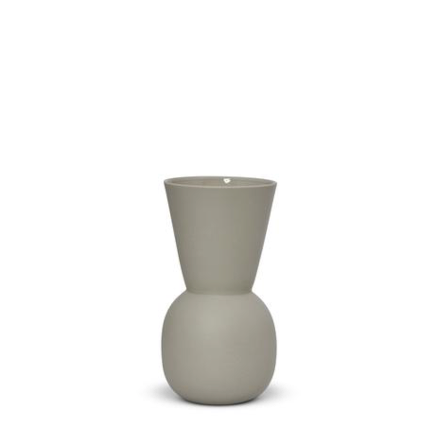 Cloud Bell Vase - Dove Grey - Small
