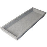 Concrete Square Tray- Natural