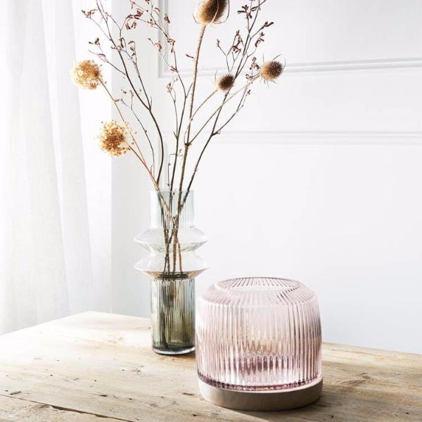 Pleat Vase Rose - XL