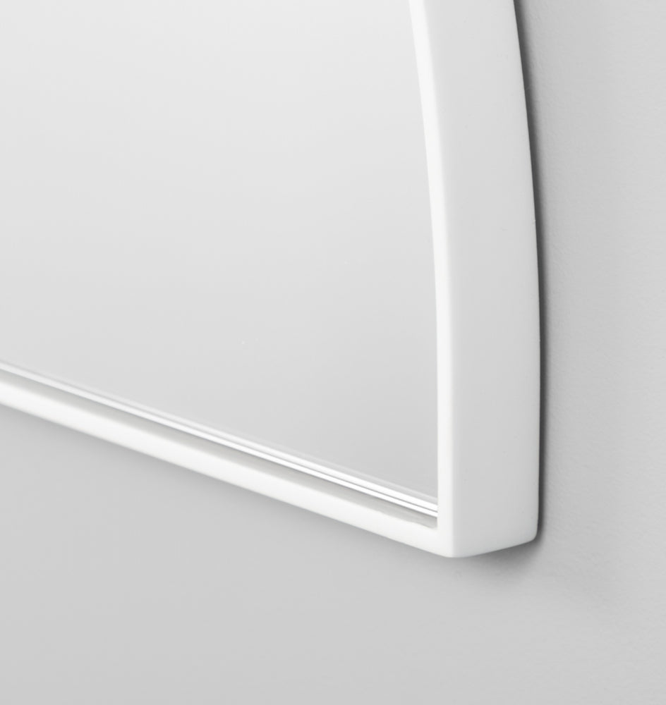 Bjorn Arch Low Mirror - Bright White