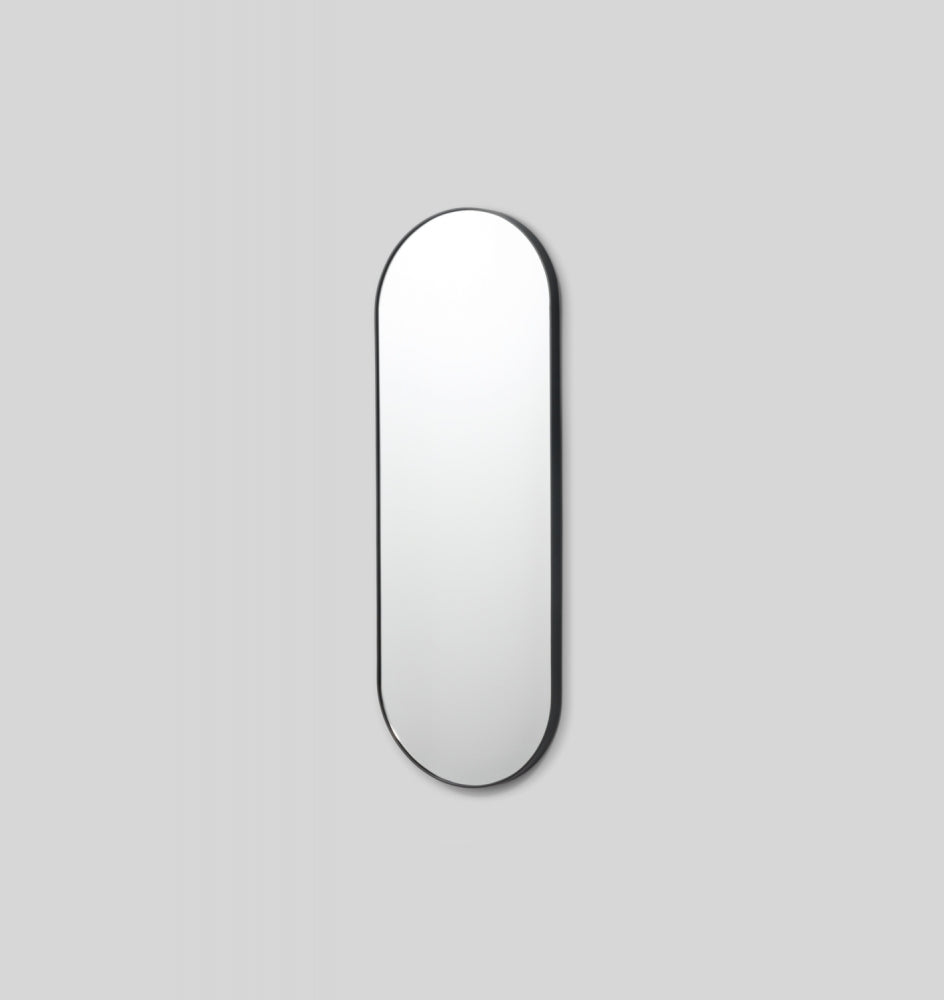Bjorn Oval large Mirror - Black