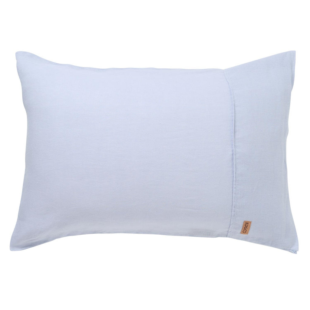 Heather Linen Pillowcase Set