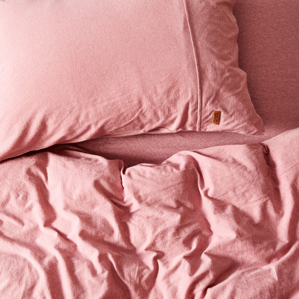 Rose Jersey Fitted Sheet