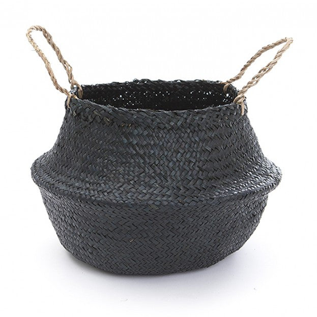 Large Black Belly Basket