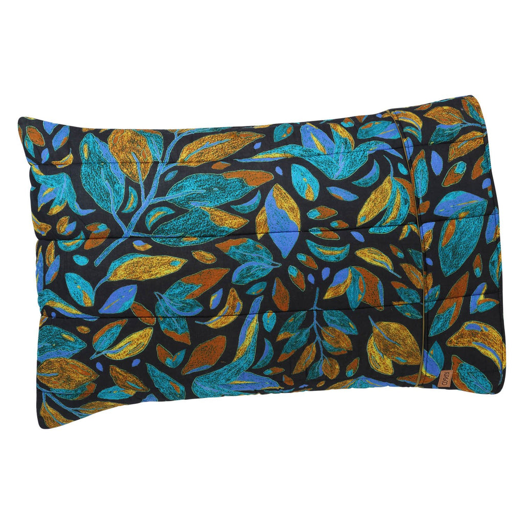 Falling Leaves Quilted Pillowcase Set
