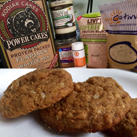 Protein Packed Oatmeal Cookies