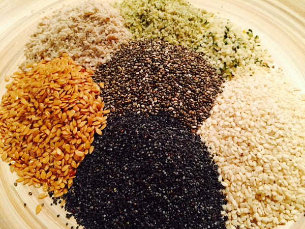 Seed-based BBQ Seasoning, Superfood Spice, High in Protein, Fiber, Vitamins & Omegas - Omega Seed Spice