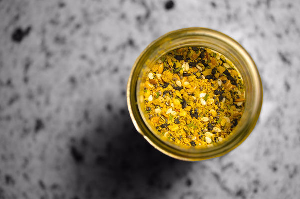 Seed-based Lemon Pepper Seasoning. Superfood Spice. High in Protein, Fiber, Vitamins & Omegas - Omega Seed Spice