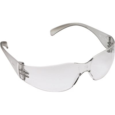 295849 3M VIRTUA SAFETY GLASSES, CLEAR FRAME, CLEAR HARDCOAT LENS